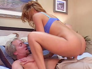 Interesting Temptation scene with two blonde being hammered in styles