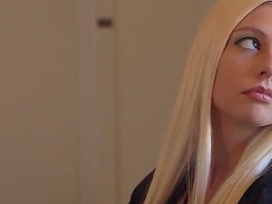Long-haired blonde senorita treats the roughest bonking of her life