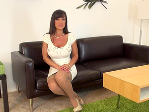 Arousing session with Lisa Ann and her most beloved lovemaking fucktoy
