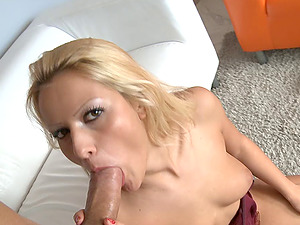 Thick manstick sucking leads to the infatuating pink pucker intrusion act