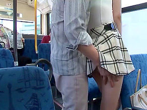 Xxx scenes on the subway with a beautiful Asian superstar