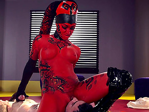 Arousing demon banged like never before by the horny mortal