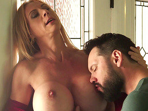 Brilliant cougars with good tits fucking in a hot compilation