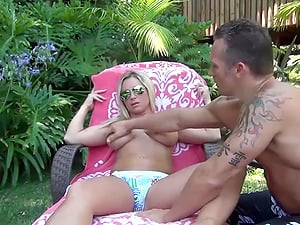Buxomy Blonde Mom Devon Lee Outdoor Fucking Joy