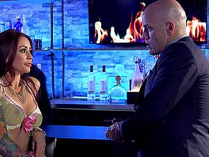 Big black dick fucking hot mummy tramp Monique Alexander