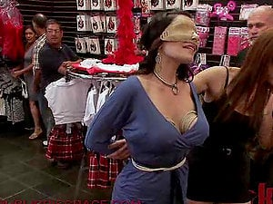 Nasty Chick Gets Fucked at the Local Fuck-a-thon Shop