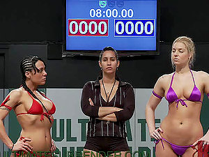 Best Catfight For All of You Girly-girl Fetish Paramours Out There!