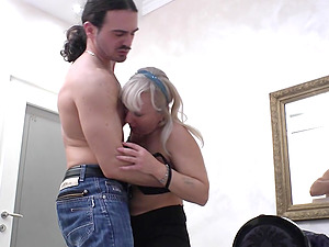 Pamela is fairly ready to get totally naked and take it into booty