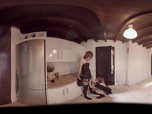 VR Pornography Shemale Hook-up at home