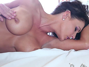 Taut adult movie star Jessica Jaymes fucked with lusty passion