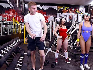 Anissa and Nekane are bored of working out and would like to have hump