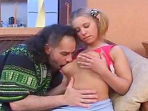 Horny blonde Margo has memorable fucky-fucky with a kinky dude