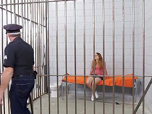 18-year-old Teenager Must Fuck Her Way Out of Jail
