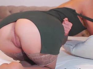 Curvy Damsel With Big Tits Solo Onanism