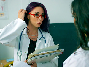 Mind-blowing red-haired goes totally sapphic at the local hospital