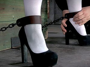 Insatiable blonde needs to be trained a lesson by her master