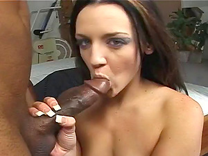 Hot donk dark-haired cock-squeezing ass fucking pounded gonzo then getting facial cumshot jizz shot