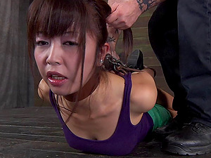Asian Mummy getting tantalized in a entirely fresh way