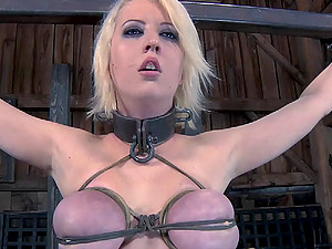 Cherry's magnificent figure is getting tormented in a totally fresh way