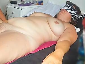 Going knuckle deep hairy cunt my wifey Rachel 44