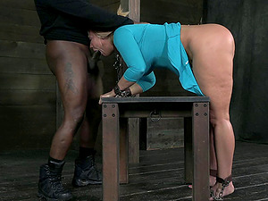Big culo victim having her hair pulled when fucked in Domination & submission