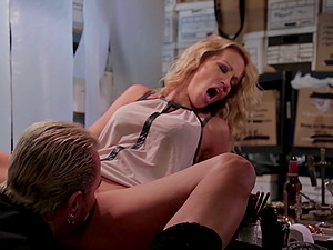 Nothing makes Jessica Drake as blessed as the missionary bang-out does