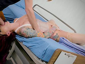 Best-looking nurse in the city rails the thickest penis of her career