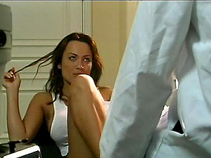 Faux tits black-haired buttfuck blasted hard-core doggystyle in close up
