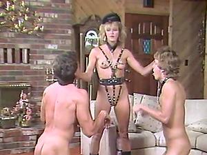 Gimp in high stilettos ravished xxx in threesome female dom porno