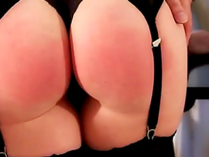 I must spank her fat bootie again and again