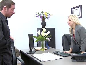 Joey Gets A Crack At Manager Ashley Fires' Crack