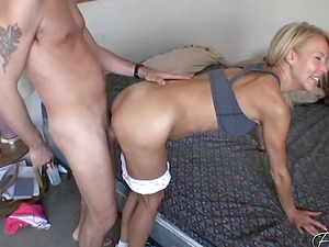 Experienced Erica Lauren knows how to make a dick pulsate