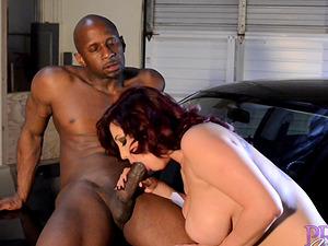 Dayna Vendetta seduced by a black stud for a good shag