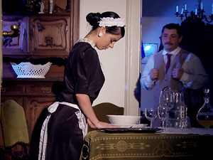 Jessyka Swan is a mischievous maid who adores anal invasion intrusion
