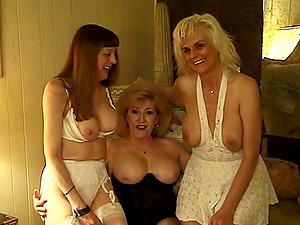 Her wearing sexy milky underwear makes a insane FILF take her twat