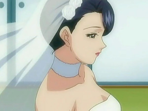 Fucking a bride turns into a four way anime porn