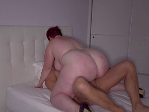 Sexy fat chick Amor seduced by a killer paramour for a kinky fuck