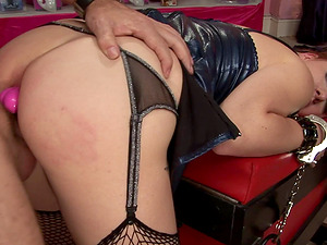 Ruby Reds plowed well with fucktoys and an erected dick
