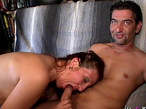 Angelica Droba is a kinky MILF in need of a hardcore shag