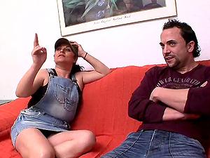 Amateurs Laura and David el moreno showing us a good fuck