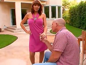 Sluts Haley Sweet & Desi Foxx in a superb hot FFM threesome