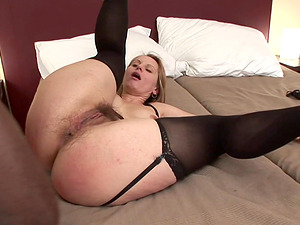 Dirty slut Magda enjoying the black schlong of Joachim Kessef