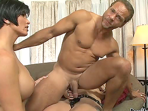 Chicks With Strapons Pig Roast A Stud & More.