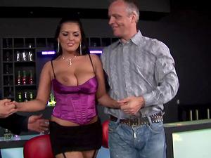 Jasmine Black and Cindy Behr love sharing an erected prick