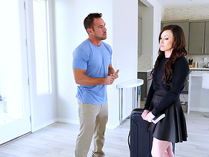 Jennifer White is excited about a handsome man's penis