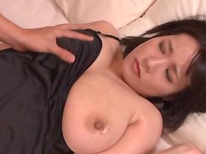 Great sex session with stunning brunette Kaho Shibuya