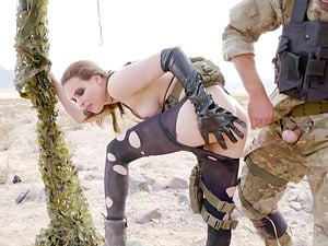 Casey Calvert may be the last one in this wasteland so he destroys her