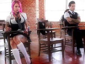 Anna Bell Peaks joins a hot orgy with her horny friends