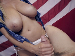 Kelly Madison's tight pussy plowed hard by a horny man