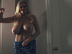 Mature chick Kelly Madison has a blast while masturbating